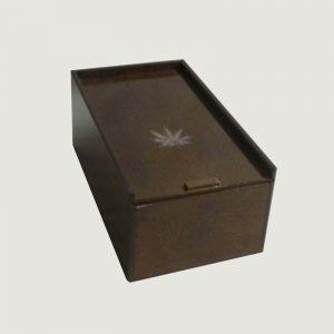 Caja curado Jamaica cerrado